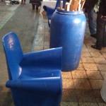 krzesło z beczki